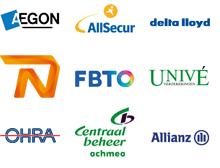 Wij werken voor alle verzekeringsmaatschappijen, waaronder: